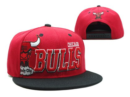 Chicago Bulls Snapback Hat SF 140802 07